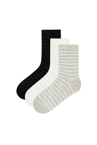 G. STRIPES 3IN1 SOCKS