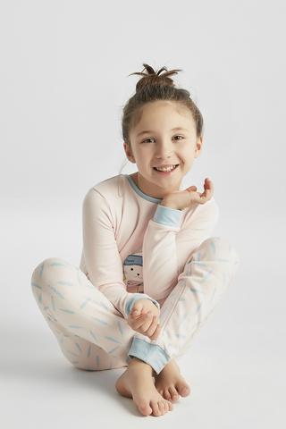 GIRLS SECRET TERMAL PJ SET