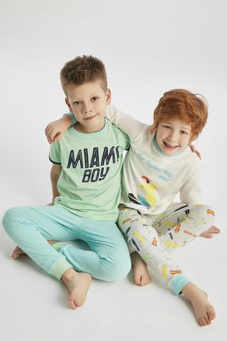 BOYS MIAMI 4IN1 PJ SET