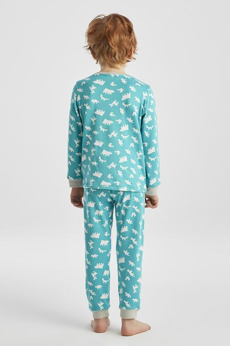 Set Pijama Baie?i Animals Thermal 2 Buc.