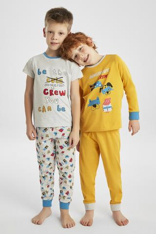 BOYS DANGEROUS 4IN1 PJ SET