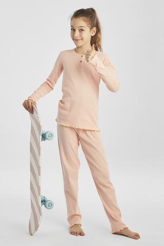 Set Pijama Teen Rib 2 Buc.