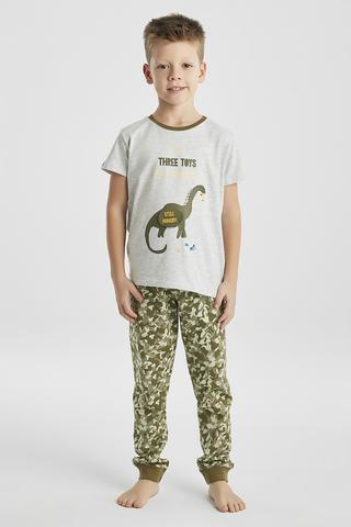 BOYS DINO 3D PJ SET