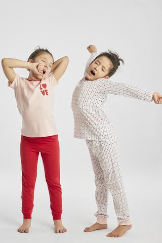 GIRLS LOVE 4IN1 PJ SET
