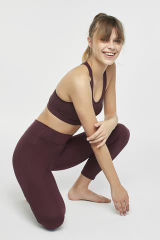 HIGH RISE STRETCHY CROP LEGGING