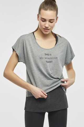 Grayscale Double Tshirt