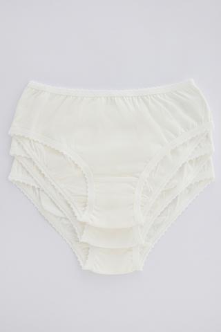 Girls Organic Cotton 3 In 1 Slip