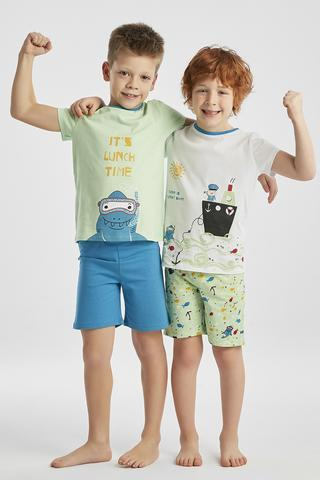 Set Pijama Boys Ocean 4 Buc.