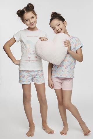 Girls Ocean PJ Set 4in1