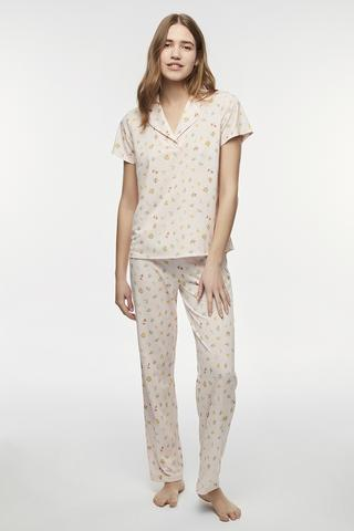 Se Pijama Cut Out Flowers