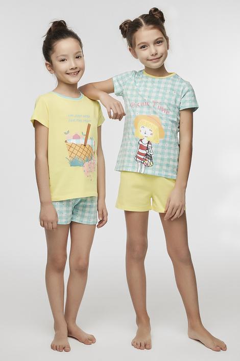 Feti?e Picnic Time 4'Buc Set Pijama