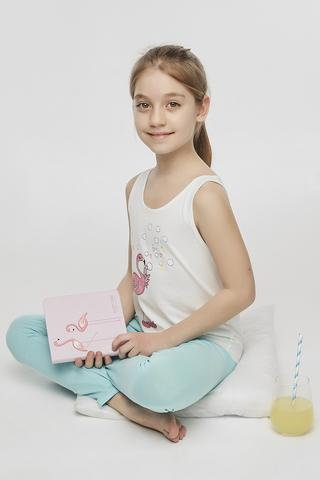 Set Pijama Teen Flamingo