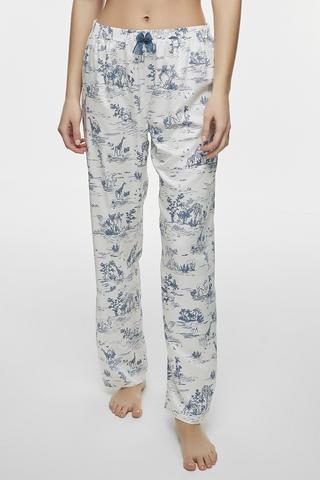Pantaloni Toile De Jouy