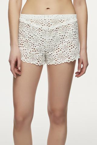 BRIDAL LACEY Pantaloni Scurt