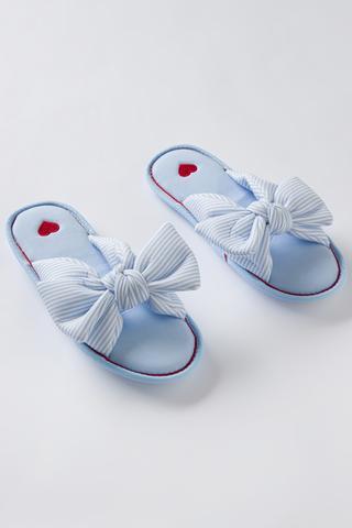Papuci Love Stripe