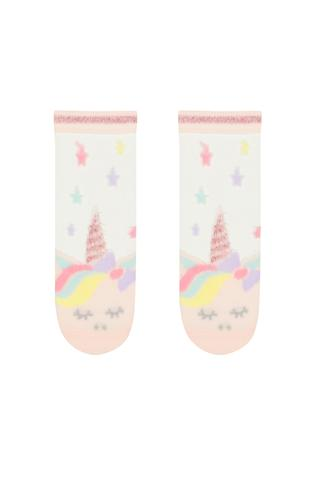 Transparent Unicorn Liner Socks