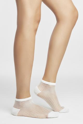 TRANSPARENT LINER SOCKS