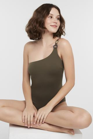 Costume Baie Circle One Shoulder