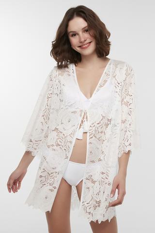 Natural Lace Kimono