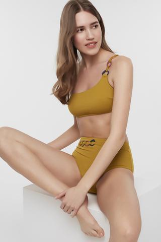 Bikini Sutien Circle One Shoulder