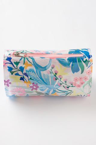 Colourful Flowers Makeup Bag