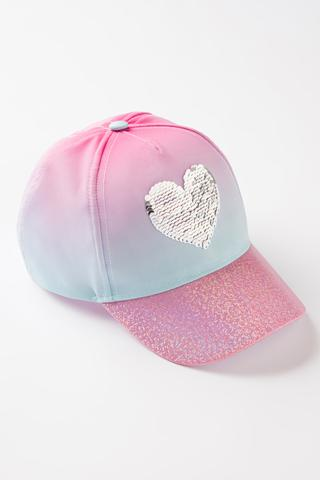 GIRLS HEART HAT