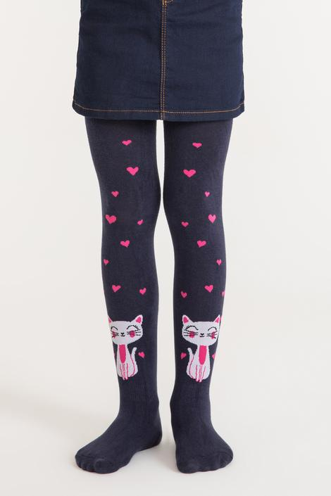 Pretty Cat In Love Tights