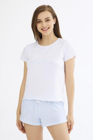 DITSY PATCH SS T-SHIRT