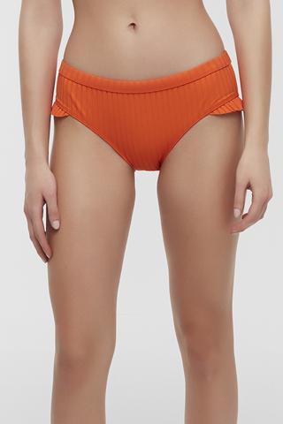Sunset Frill Hipster Bikini Bottom