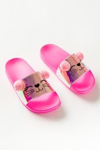 GIRLS CAT SLIPPERS