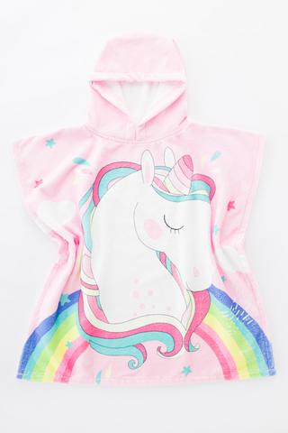 Girls Unicorn Towel