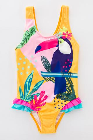 Costum Baie Fetițe Jungle