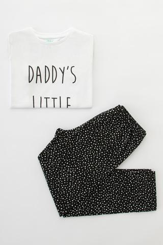 Set Pijamale Fetite Family Dark 2 Buc.
