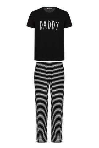 Family Men Dark SS PJ Set
