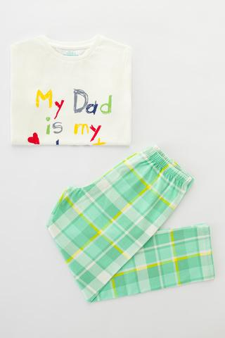 Set Pijama Family Plaid 2 Buc.