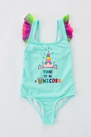 Girls Unicorn Suit