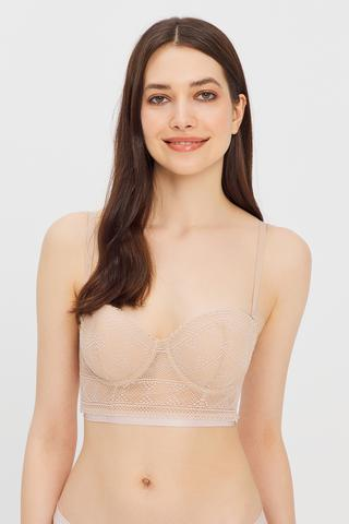 Pop Up Longline Bra