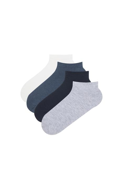 Basic 4 In 1 Liner Socks