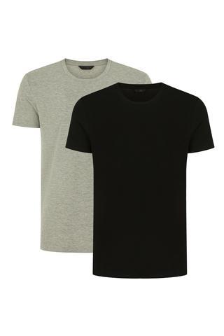 Basic Regular 2in1 SS T-shirt
