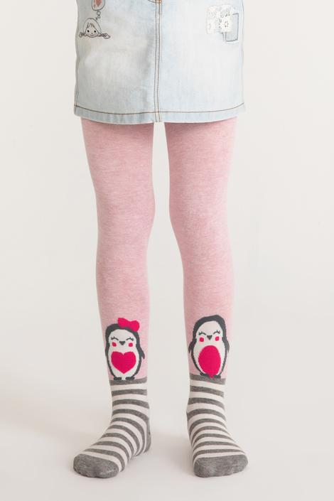 Pretty Penguin Family Tights