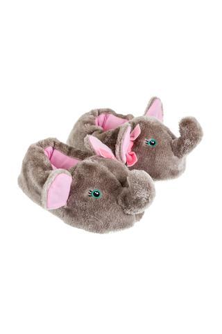 T?lpici pantofi de cas? pentru fete cu elefant