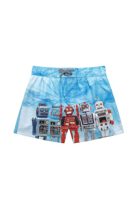 Boys Robots Short