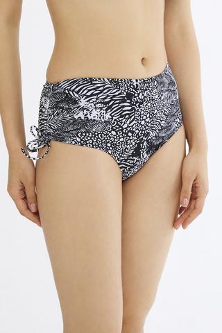 Bikini Chilot Zebra High Ring