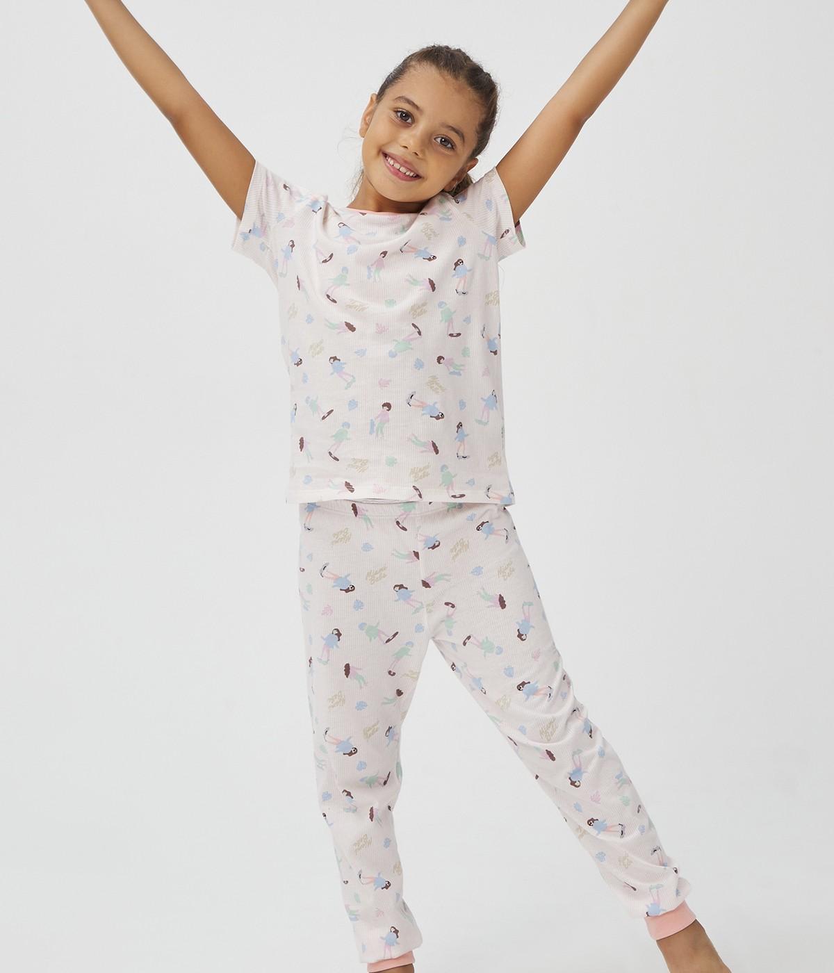 Feti?e Babe Miamı 4Buc Set Pijama
