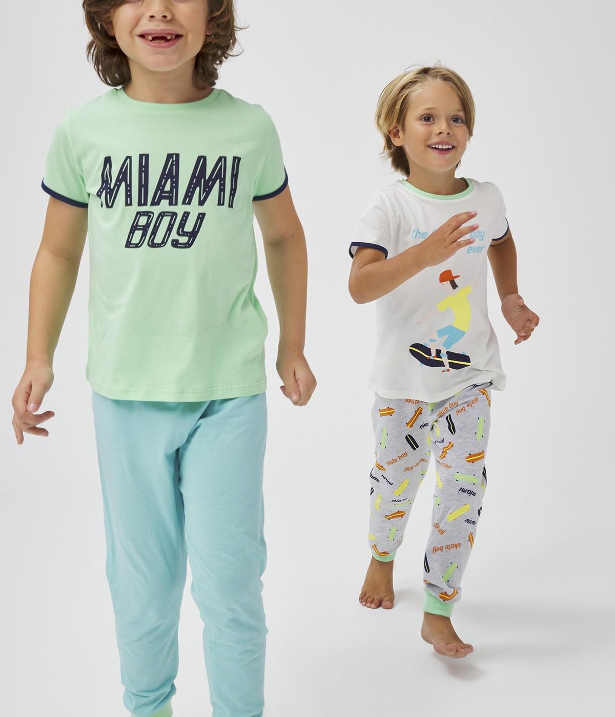Set Pijama Barbate?ti Miami 4Buc.