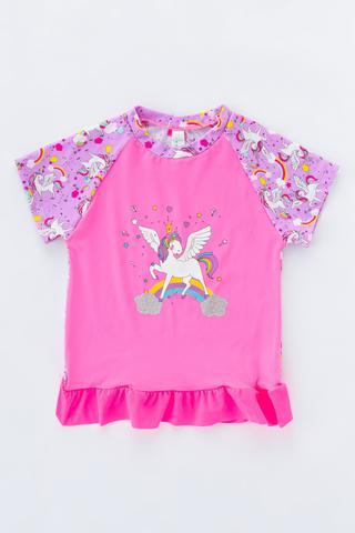 Costum Baie Unicorn UV Top
