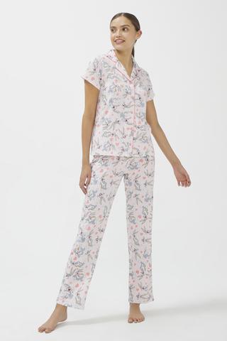 Set Pijama Lic Pink Bugs SS