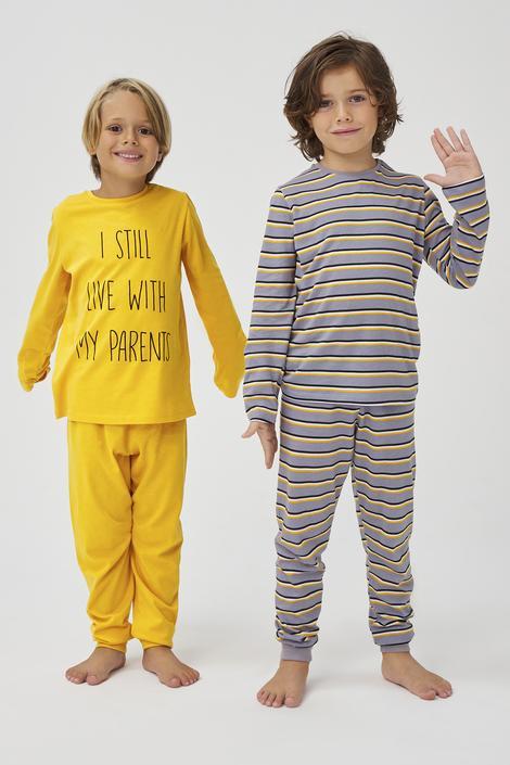 Set Pijama Baie?i Parents 4 Buc.