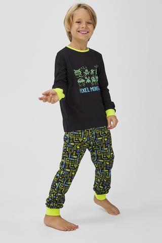 Set Pijama Baie?i Pixel 2 Buc.