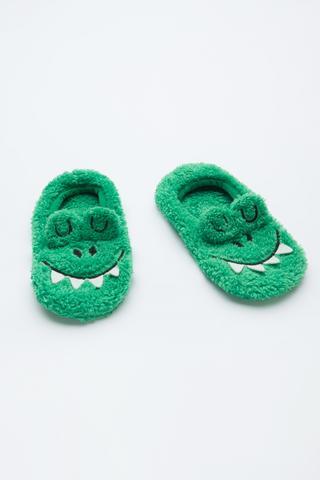 Boys Crocodile 3D Liner Socks